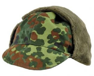 Flecktarn winter cap.